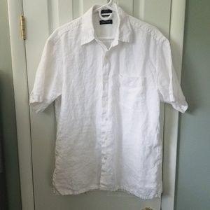 100% linen Nautica shirt